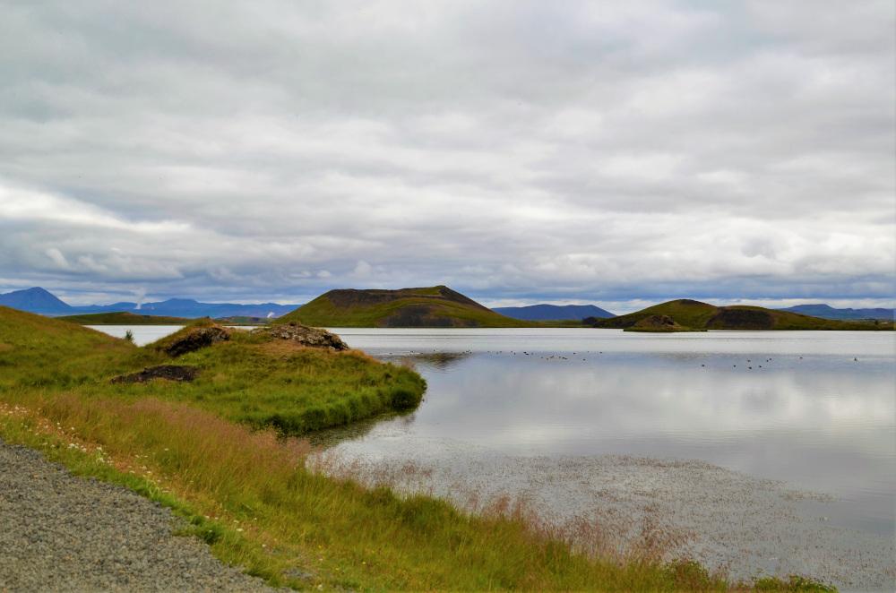 Richtig beeindruckend ist der Myvatn See in Island