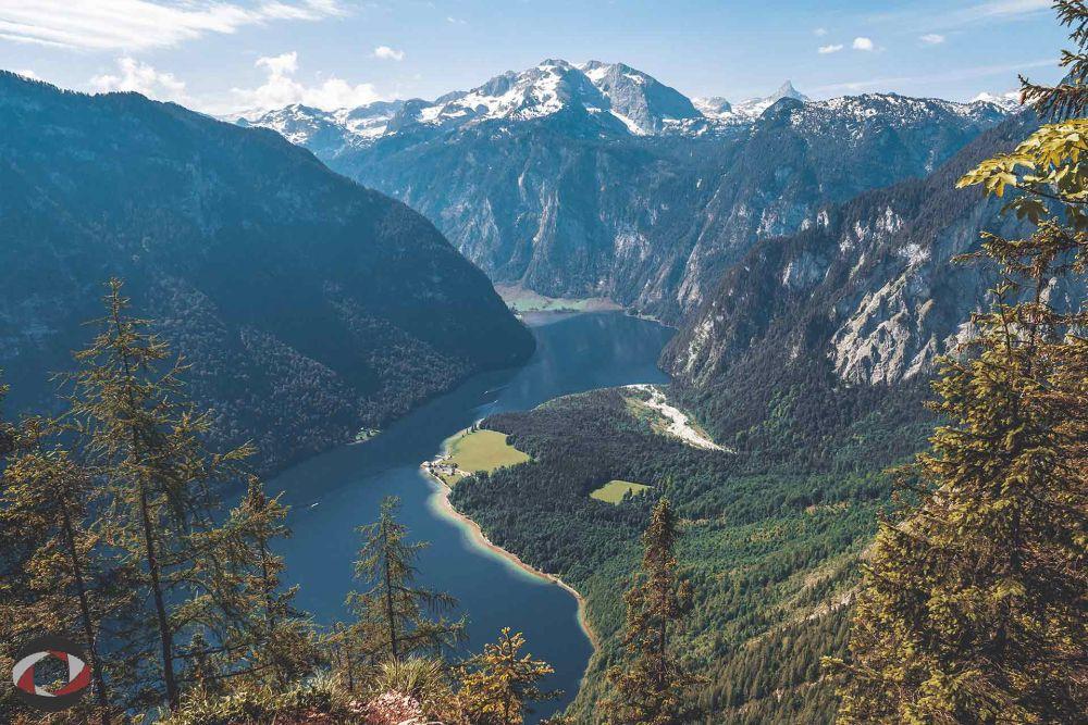 Ein bekanntes Urlaubsziel in Bayern: der Königssee