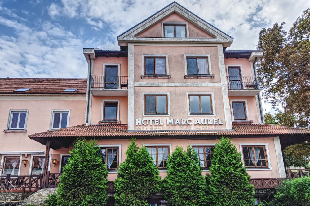 Das Hotel Marc Aurel in Petronell Carnutum