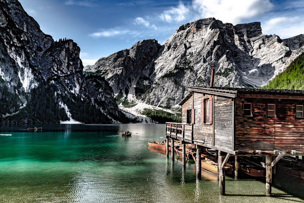 Eine wahre Schönheit ist der Pragser Wildsee