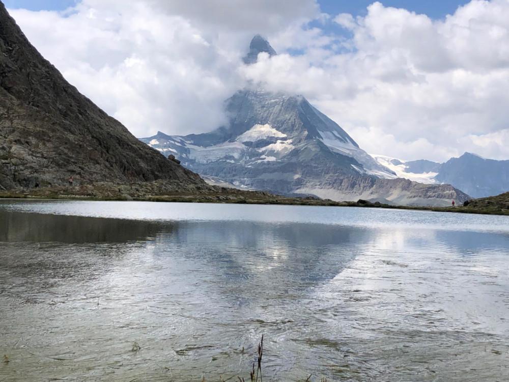 Der Riffelsee ist einer der schönsten in der Schweiz