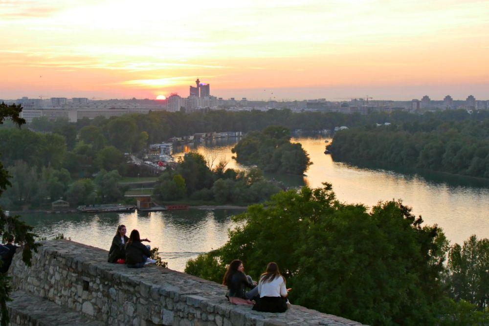 Ein schöner Fluss macht eine Hauptstadt noch lebenswerter