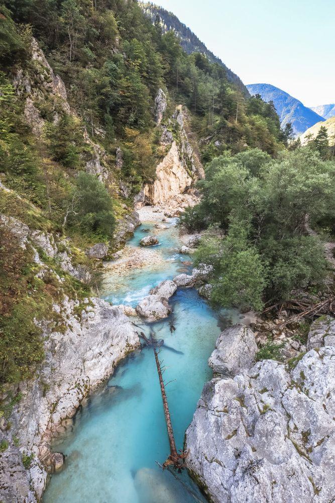 Die Soča ist einer der schönsten Flüsse Europas