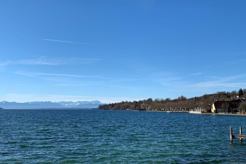 Der Starnberger See in München ist im Sommer sehr beliebt