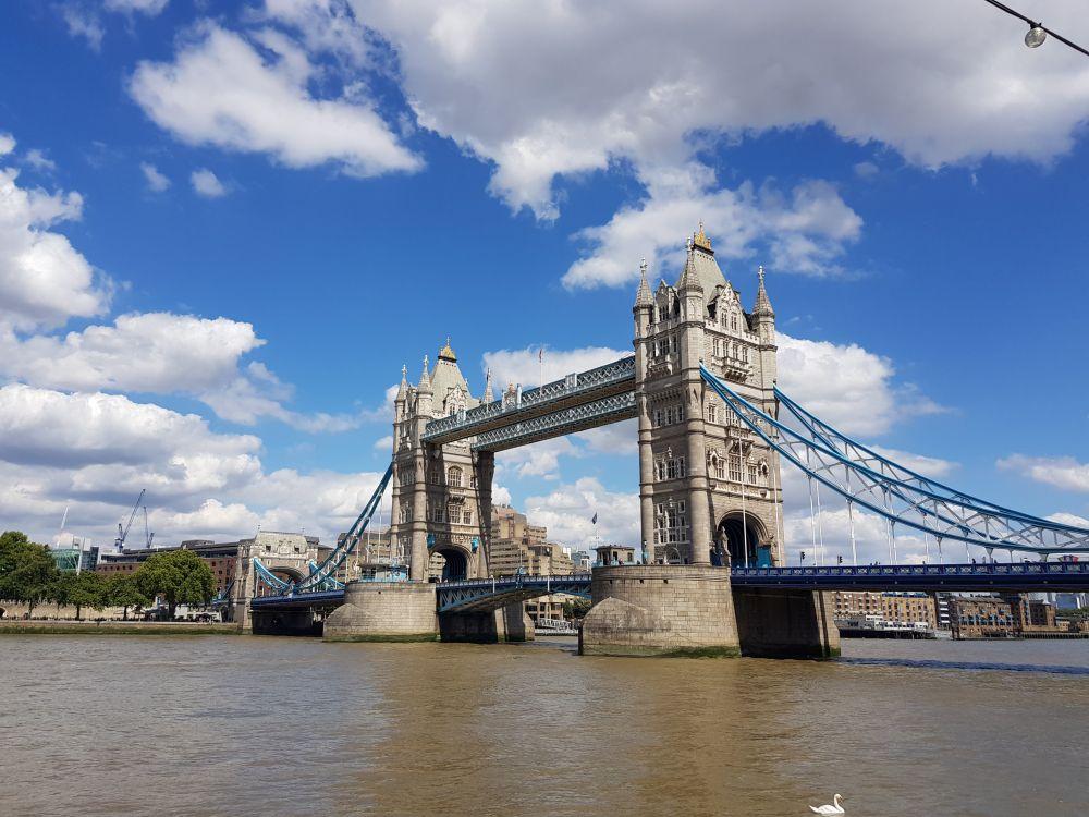 Die Themse ist die Lebensader in London