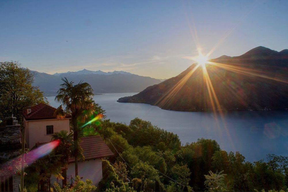 Einer der bekanntesten Seen in Europa: der Lago Maggiore