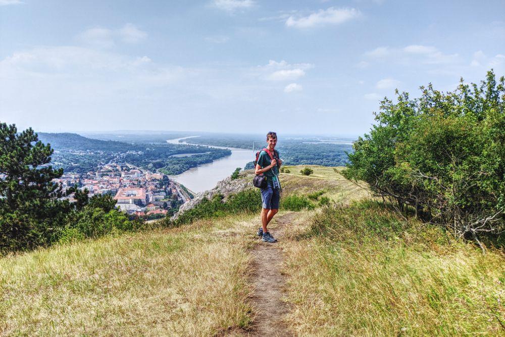 Unsere große Wanderung führte auf den Braunsberg mit Donaublick