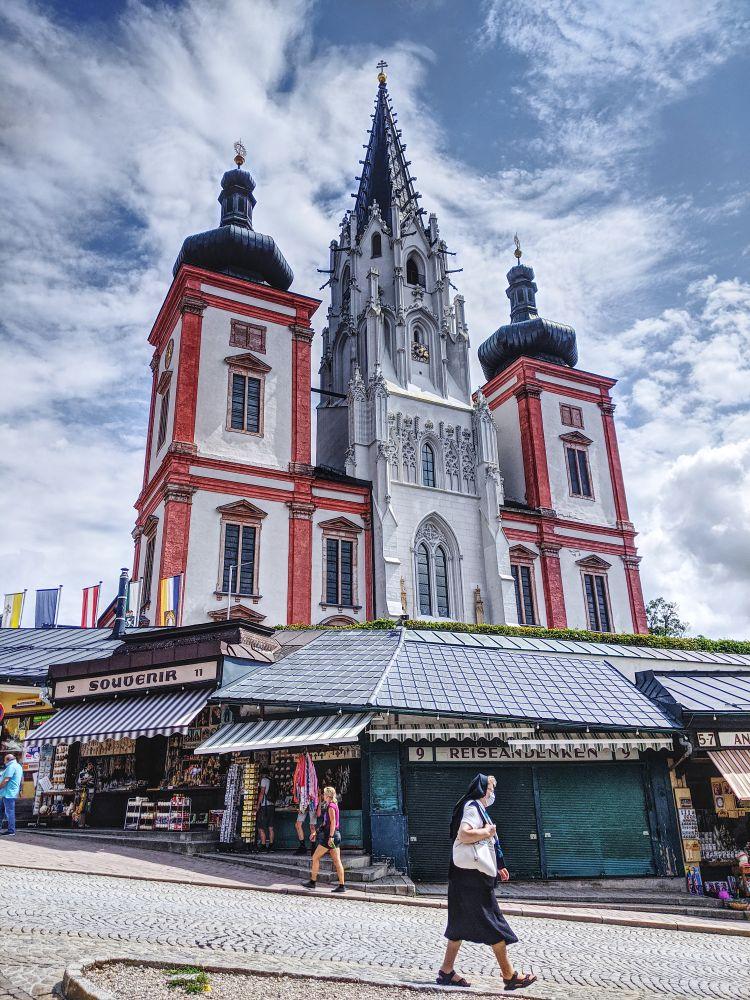 Das ist die beeindruckende Basilika Mariazell