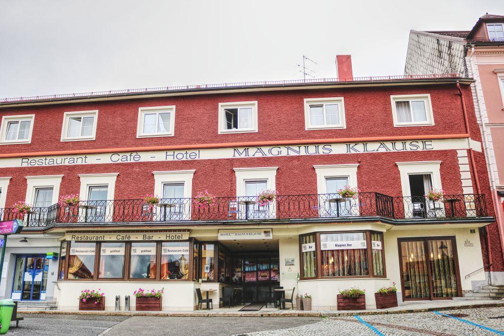 Unser  Hotel Magnus Klause am Hauptplatz