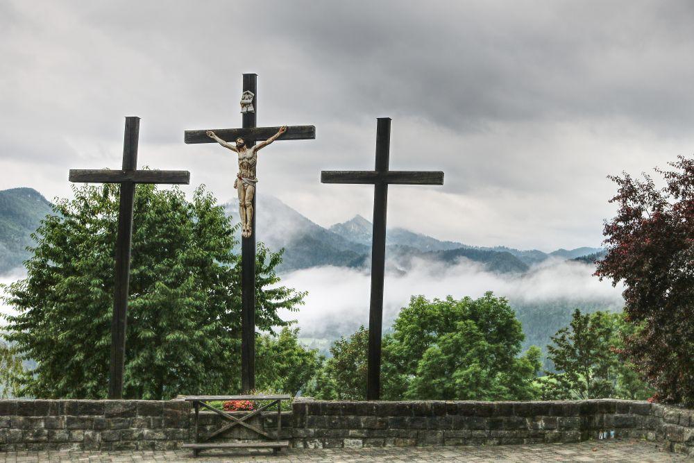 Auf dem Mariazeller Kalvarienberg