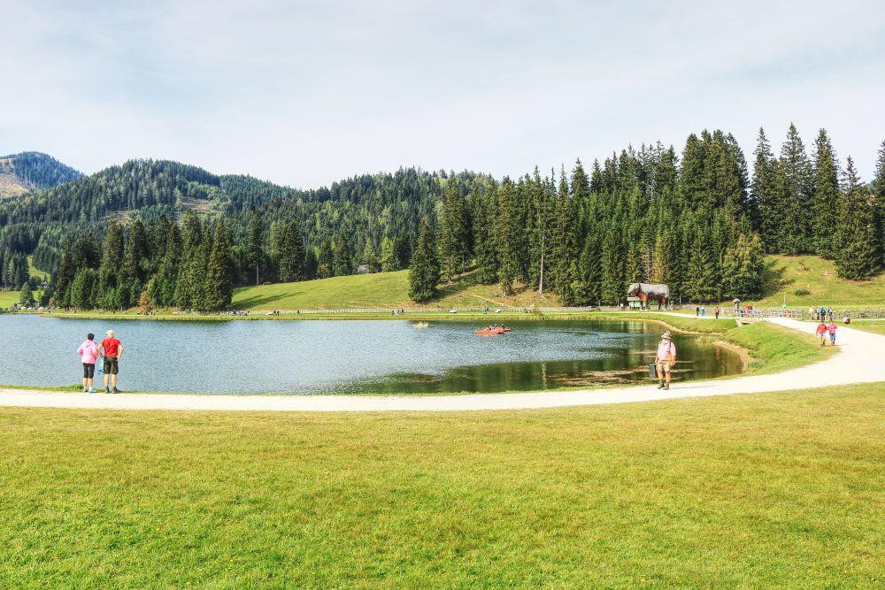 Die Teichalm in der Steiermark ist ein beliebtes Naherholungsgebiet