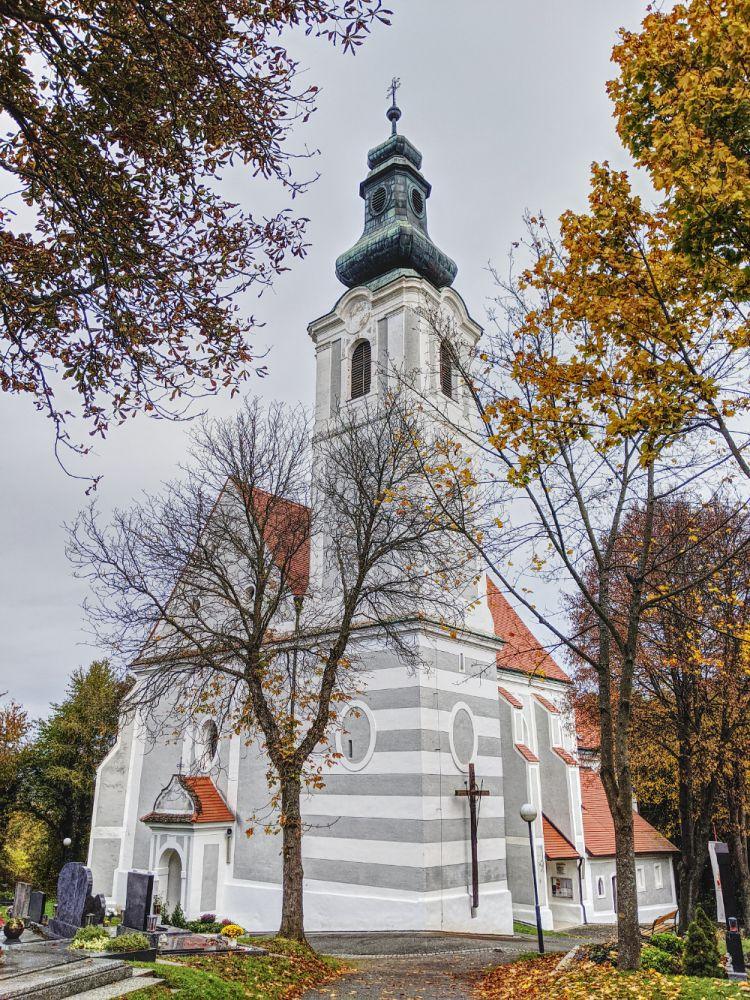 Die Wallfahrtskirche Maria Weinberg im Südburgenland