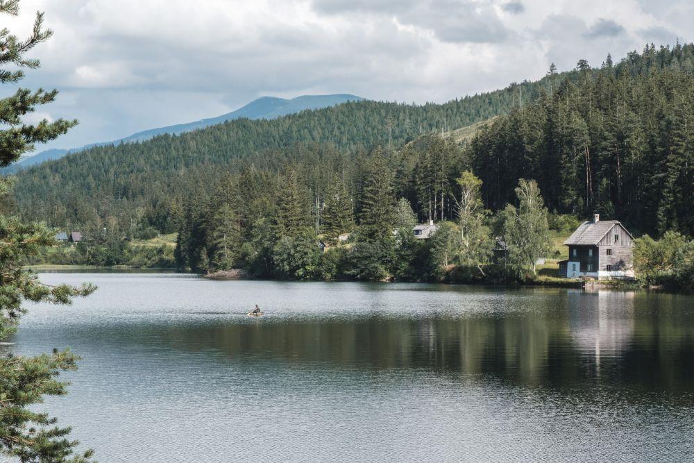 Kaum zu glauben, dass dieser See künstlich angelegt wurde