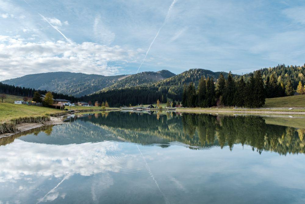 Vom Teichalmsee in Fladnitz kann man viele Wanderungen starten