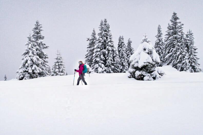 Schneeschuhwandern in der Steiermark – Touren für Winterwanderungen