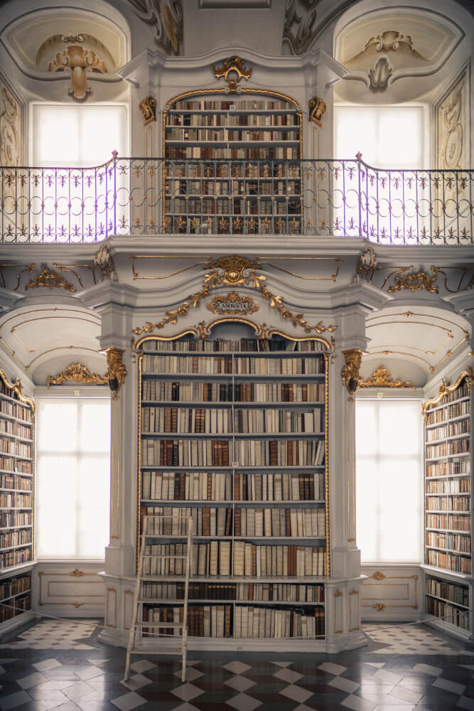 Der Büchersaal ist ein beliebtes Ausflugsziel in der Steiermark