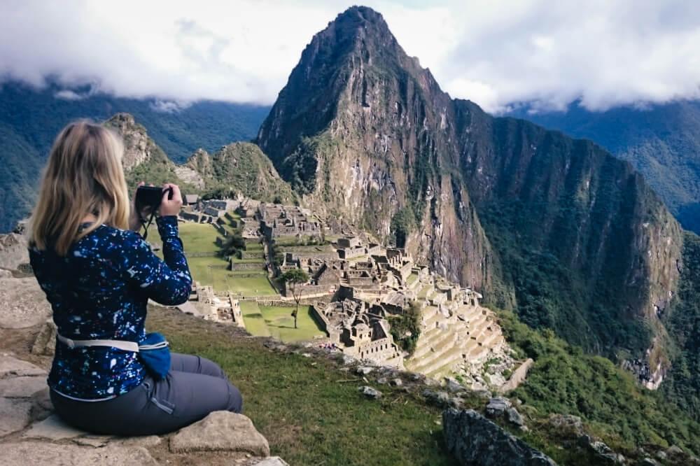 Das klassische Fotomotiv des Machu Picchu