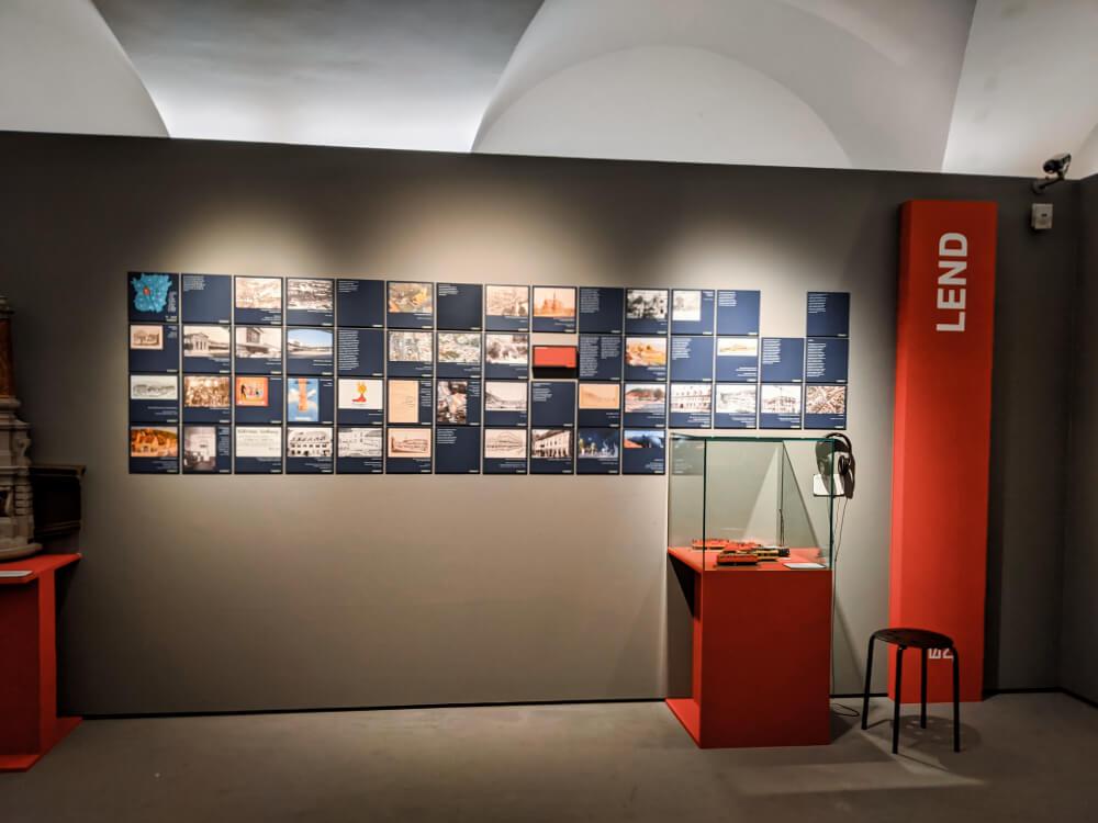 Geschichte zum Stadtteil Lend gibt es im Museum