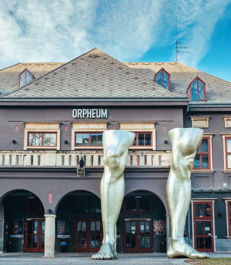 Das Orpheum in Graz ist ein Veranstaltungszentrum