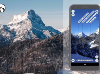 VERSCHIEDENE LäNDER: App PeakFinder Erfahrung ∆ Bergnamen finden leicht gemacht