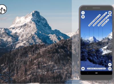 : App PeakFinder Erfahrung | Bergnamen finden leicht gemacht