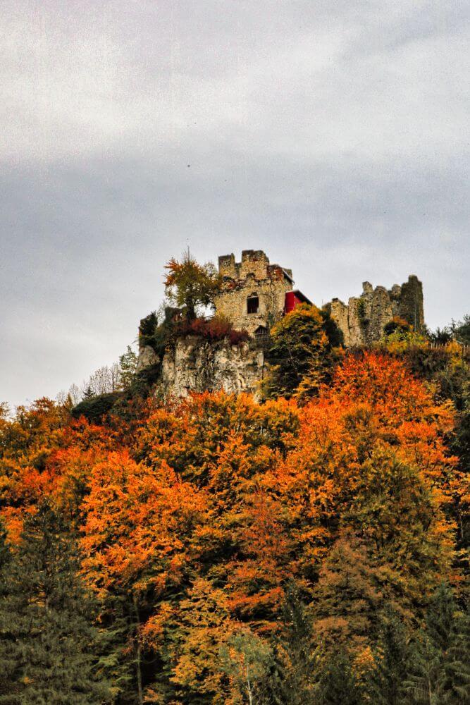 Die alte Burgruine Peggau ist in Privatbesitz