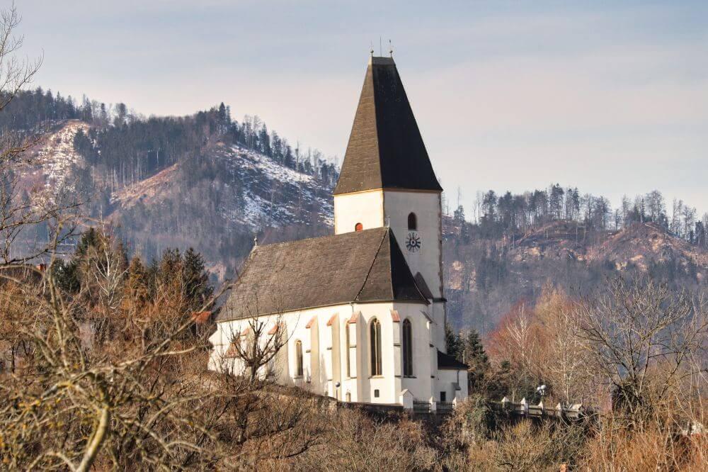 Die schöne Pfarrkirche Pernegg zum heiligen Maximilian