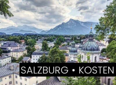 ÖSTERREICH: So viel kostet eine Städtereise nach Salzburg | 3 Tage & 2 Personen