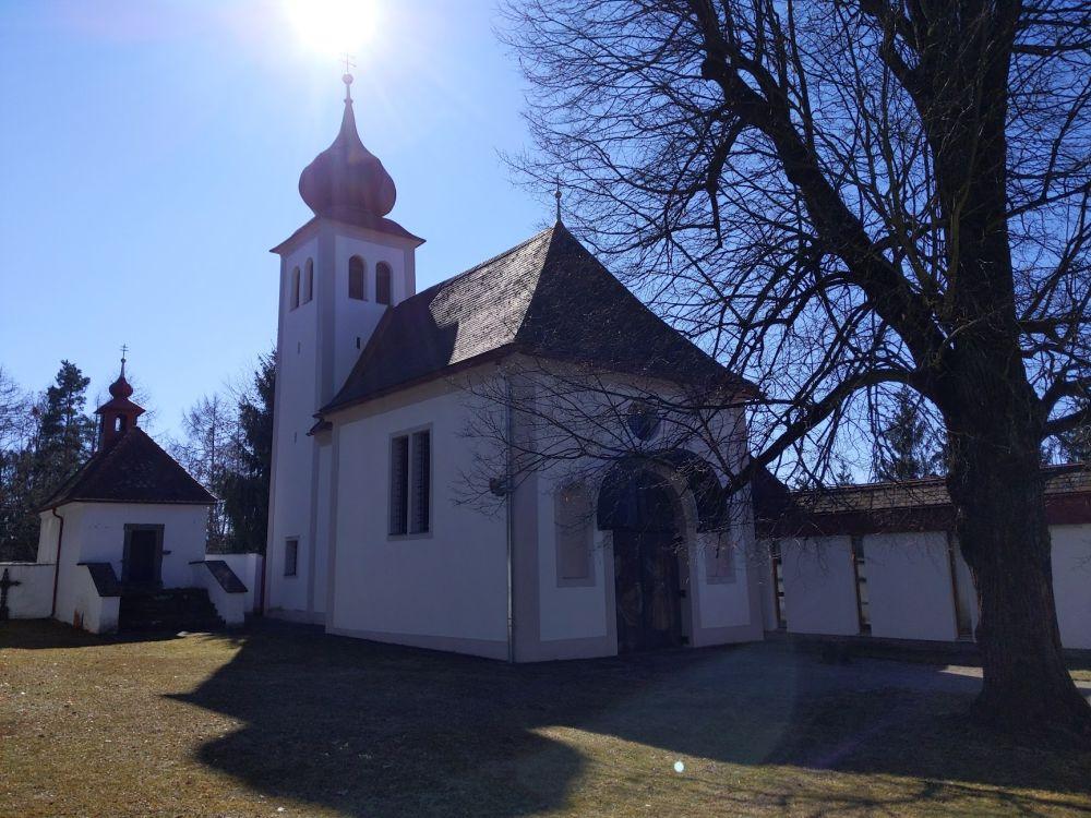 Kirche auf dem heiligen Berg in Bärnbach