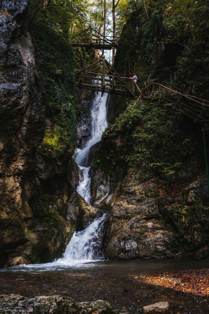 Die Kesselfallklamm ist ein Ausflugsziel in der Nähe von Graz