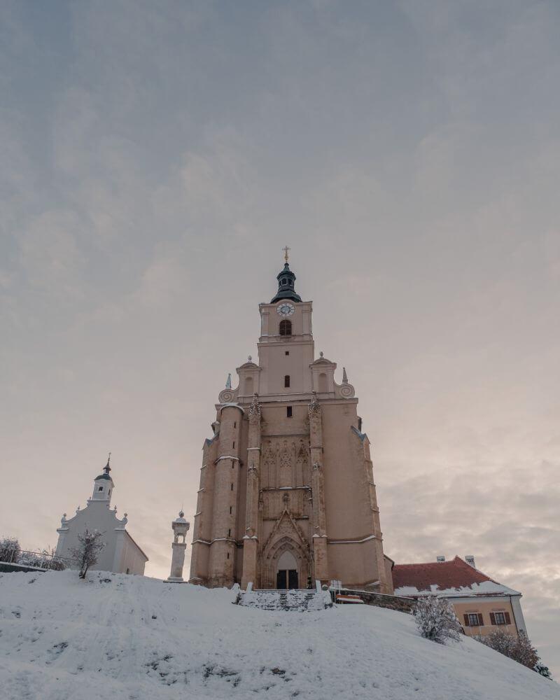 Sehr beeindruckend ist die Wallfahrtskirche Maria Pöllauberg