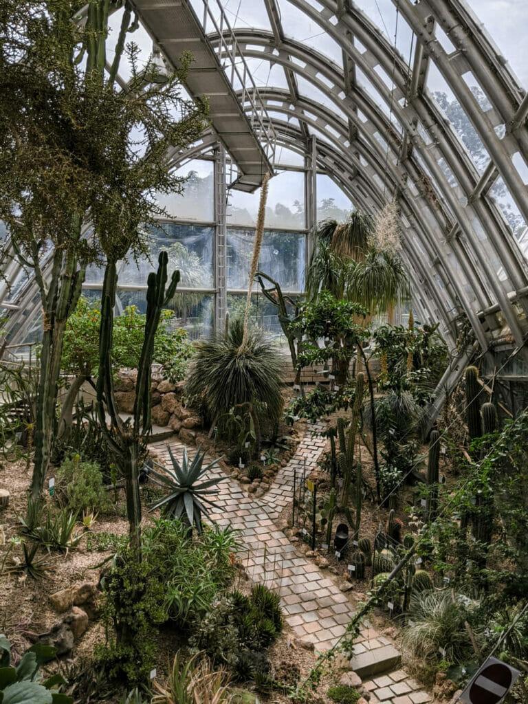 Der botanische Garten in Graz
