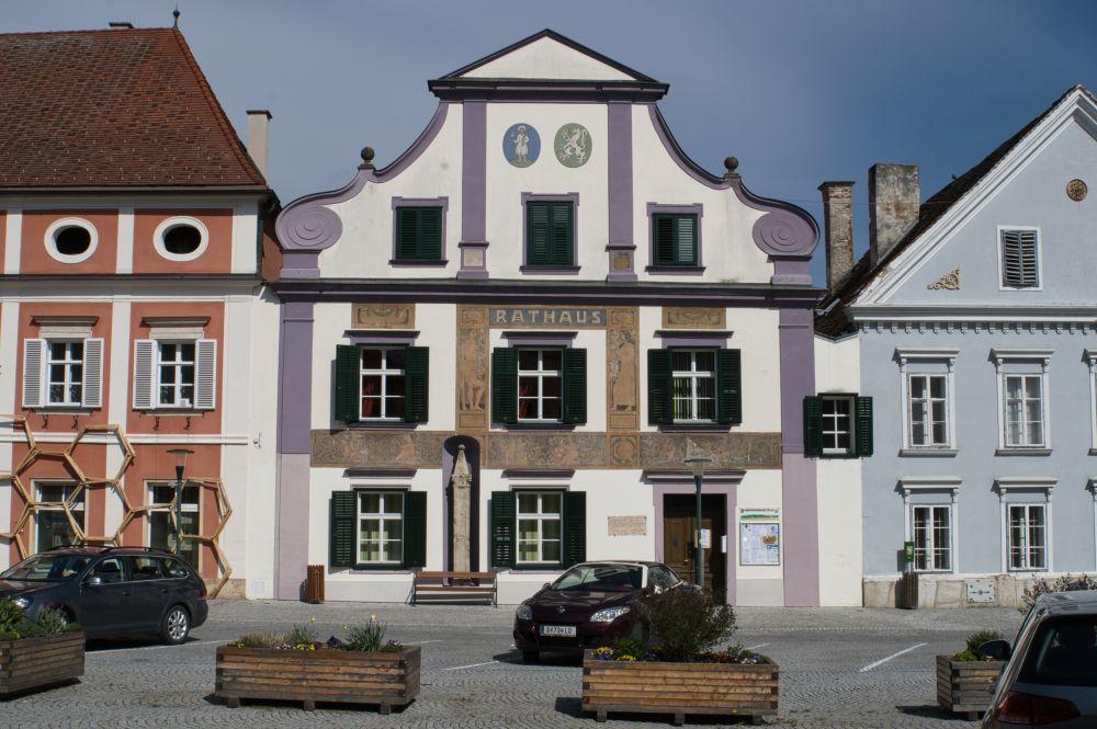 Ein kleiner aber feiner Marktplatz in Pöllau