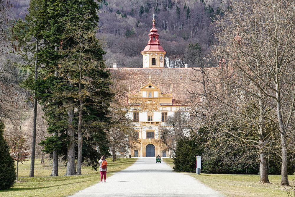 Auch der Schlossgarten ist wunderschön anzusehen