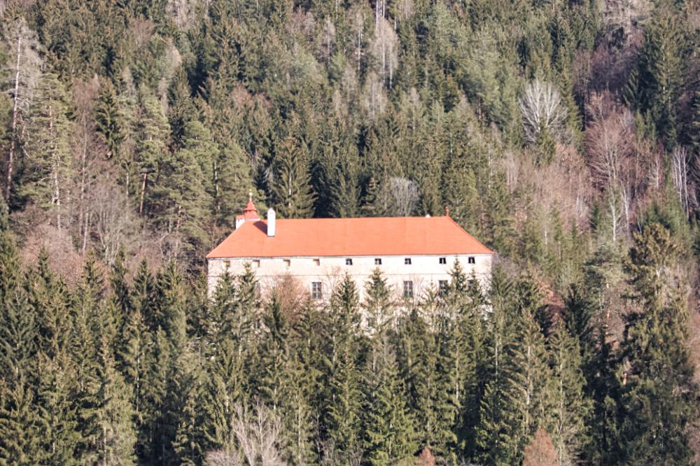 Schloss Pernegg in der Nähe von Bruck an der Mur