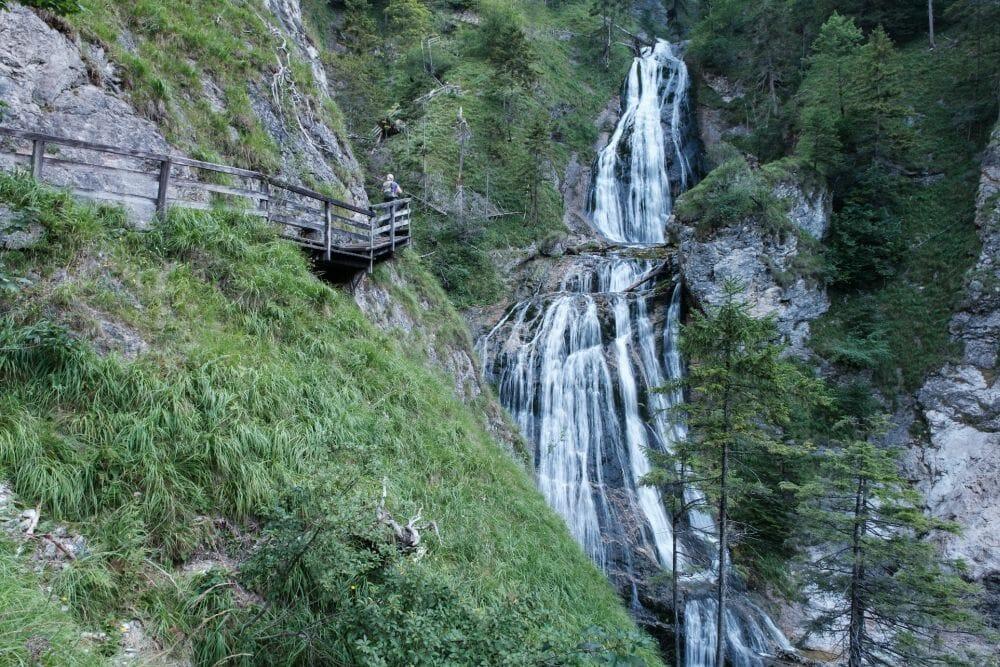 Die erlebnisreiche Wasserlochklamm in Palfau