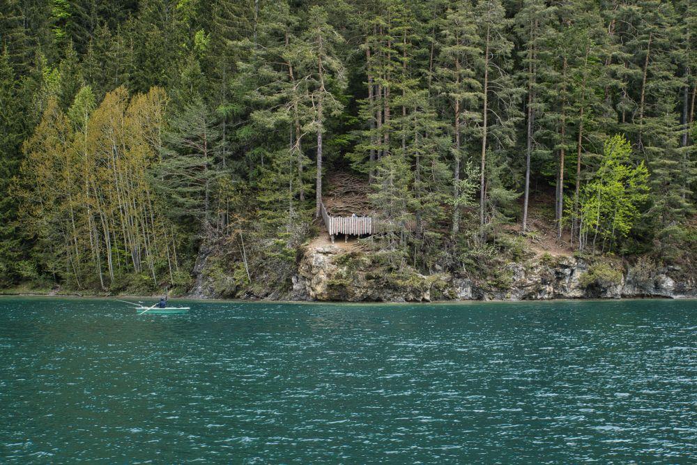 Auf dem Slow Trail Weissensee gibt es ein paar Aussichtspunkte