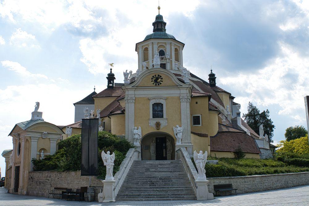 Die Bergkirche oder auch Haydn-Kirche genannt
