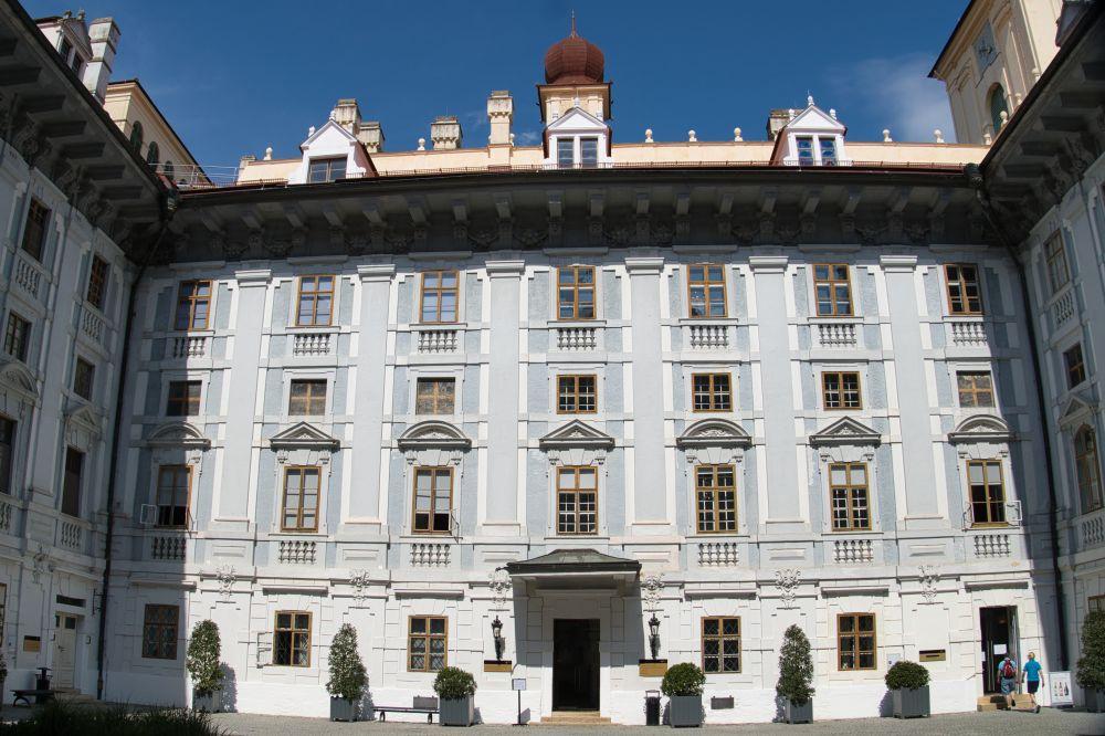 Der Innenhof Schloss Esterhazy