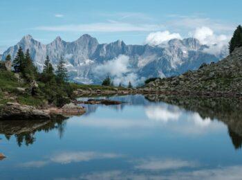 Zum Spiegelsee wandern – 2 Wanderrouten von der Reiteralm aus