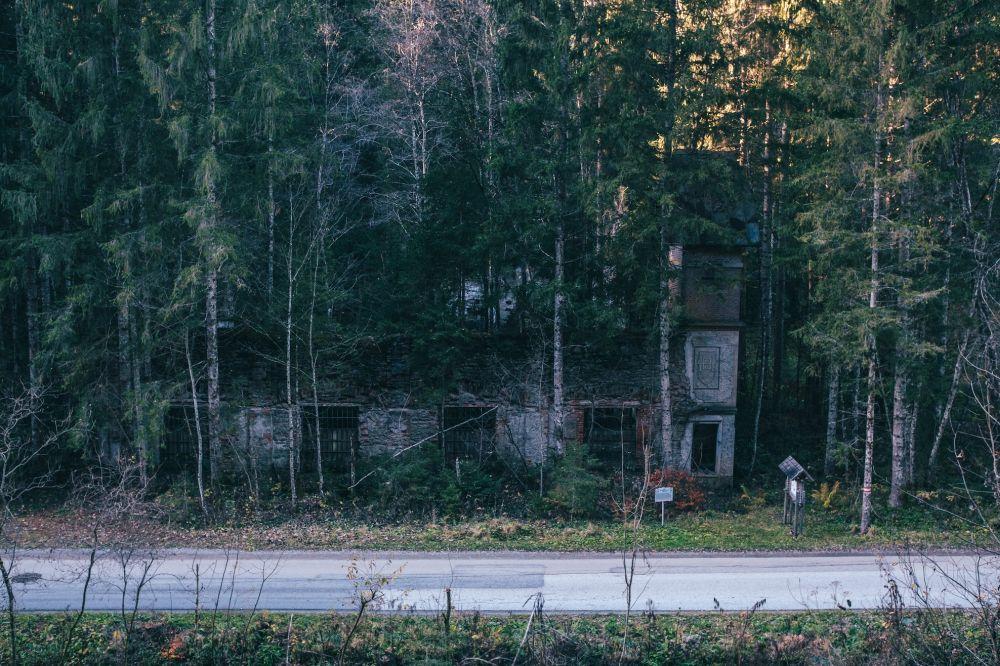 Ruinen der Erzaufbereitungsanlage (Lost Place)