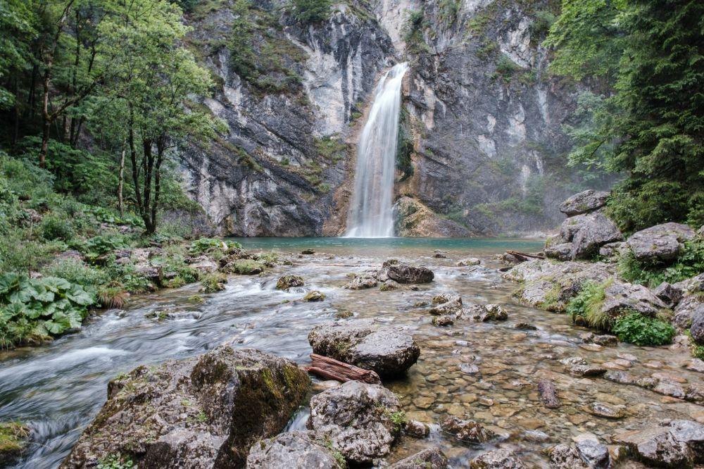 Der Salzawasserfall in der Region Schladming-Dachstein