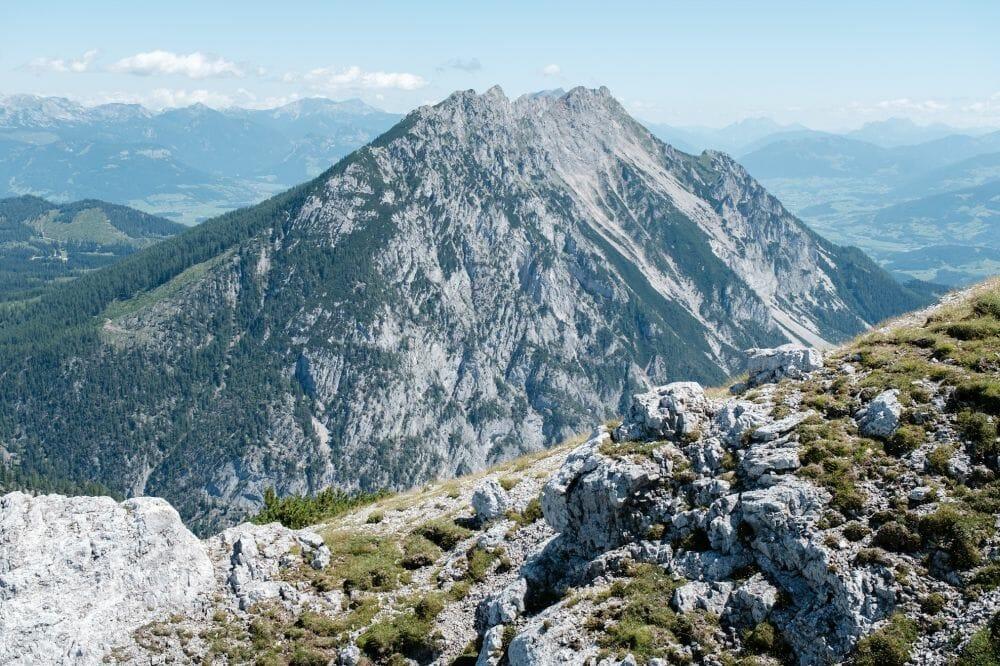 Ausblick vom Stoderzinken auf die Kammspitze