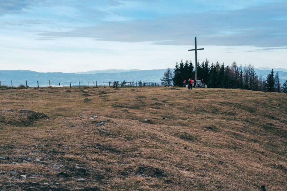 Das Gipfelkreuz auf dem Schöckl