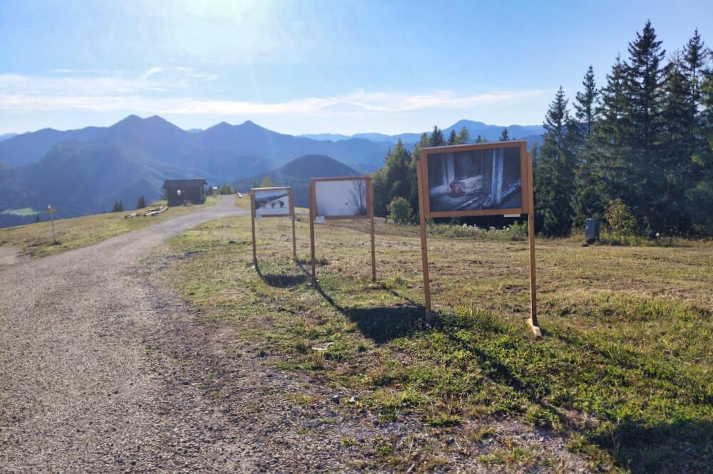 Fotoausstellung auf der Bürgeralpe