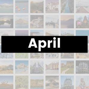 Reisemonat April