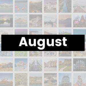 Reisemonat August