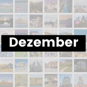 Reisemonat Dezember