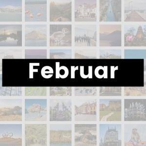 Reisemonat Februar