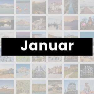 Reisemonat Januar
